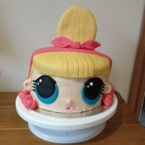 birthday cake lol doll